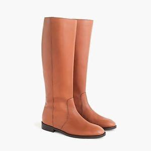 nwob jcrew leather riding boots j8505